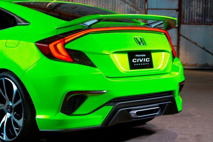 Honda Civic Concept at 2015 New York International Auto Show