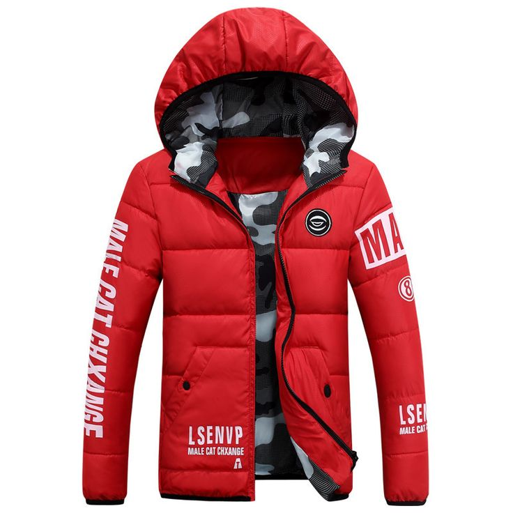 2016 Fashion Winter Down Parka Men Cotton Padded Short Thick Warm Casual Hooded Male Jacket Coat