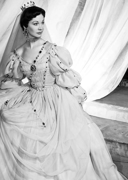 Vivien Leigh as Viola in Twelfth Night, 1955