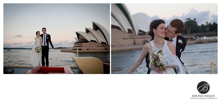 Emma and David had a small civil wedding at Cremorne reserve just meters from where they first met at Cremorne Point wharf.