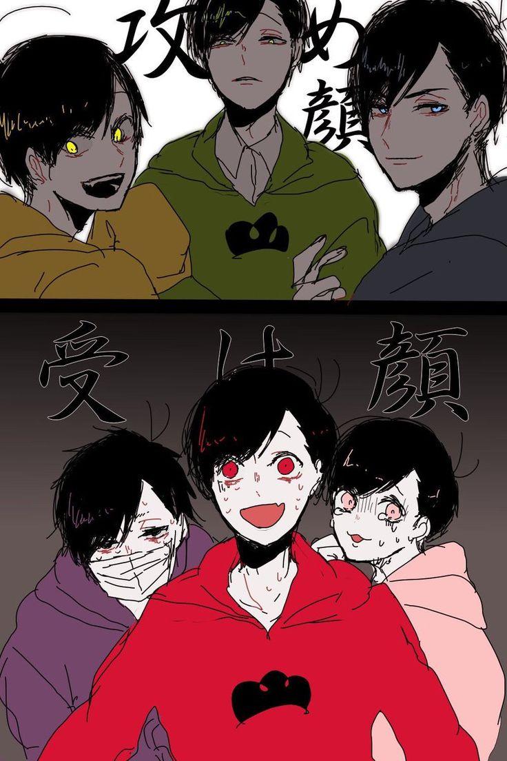 Jyushimatsu, Choromatsu, Karamatsu | Ichimatsu, Osomatsu, Todomatsu | Osomatsu-san