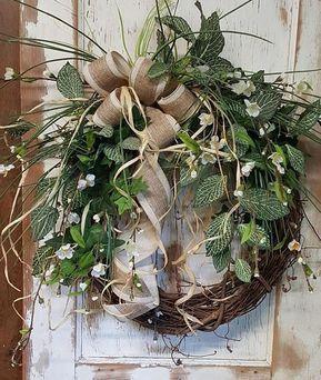 Front Door Wreath, farmhouse