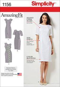 Simplicity Dresses-10-12-14-16-18 US1156AA | Jo-Ann