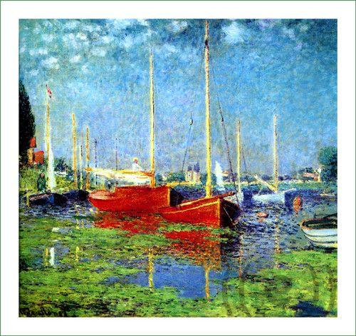 obraz - Claude Monet (11)  (látkový panel)