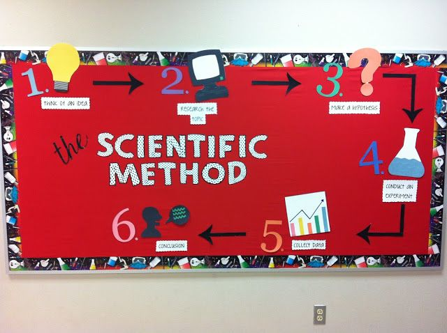Science bulletin board