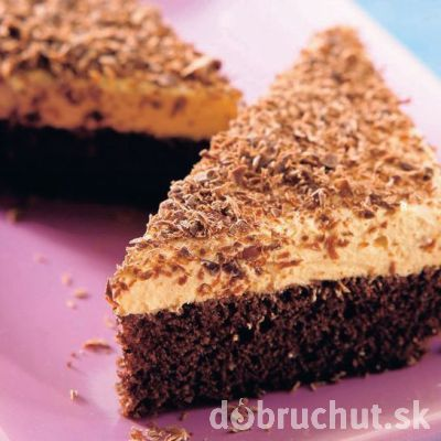 Božský koláč kávovo - karamelový