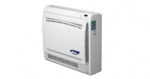 Console - Climatizzatore a pavimento con tecnologia DC Inverter.