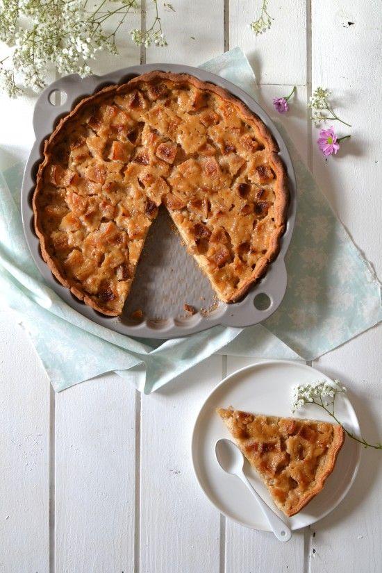 tarte végétale aux pommes et à l'amande