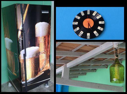 Decorando meu Casamento!: Tudo começou com uma pintura na garagem e terminou em uma festa de aniversário... Decoração DIY + Festa... não tem nada melhor!!! Fotos do Antes e Depois!! Decoração - faça você mesma - aniversário - antes e depois