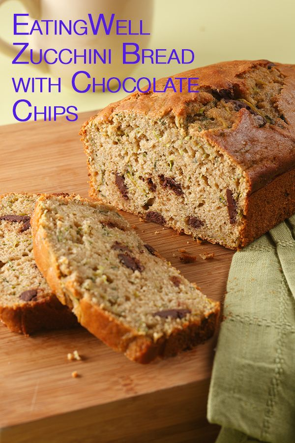Zucchini Bread with Chocolate Chips | Recipe | Bread ...