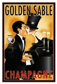 Champers will turn you into Louise Brooks