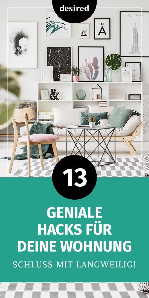 13 Tricks, mit denen du deine Wohnung aufpimpst