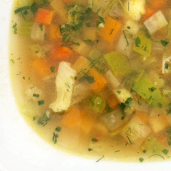 Winter Vegetable and Farro Soup | CUESA | soups of the world | Pinter ...