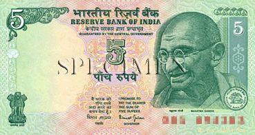 MONNAIE - Roupie Indienne billets
