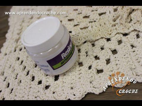 Aplicação Resina Antiderrapante em Tapetes de Crochê