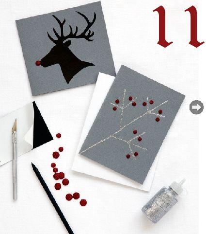 24 Christmas Cards Ideas » Random Tuesdays