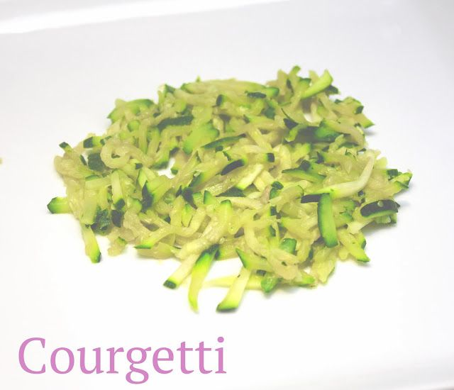 Courgettes dressed up as spaghetti! Its' courgetti! 5:2 Fast Diet recipes