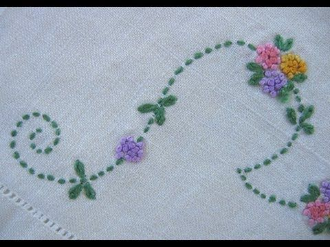 Basic Hand Embroidery Stitches. Part (2) | Naku0131u015f Nasu0131l Yapu0131lu0131r | Pinterest | Hand Embroidery ...