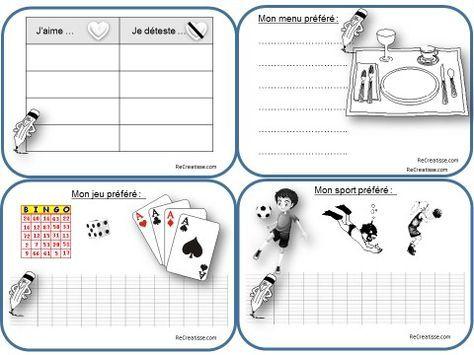 PRODUCTION D'ECRITS CE1 : écrits quotidiens – Ateliers – Chantier d'écriture LE CONTE – ReCreatisse