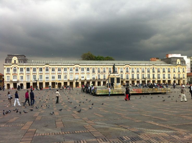 Plaza de Bolívar en Bogotá, Bogotá D.C.