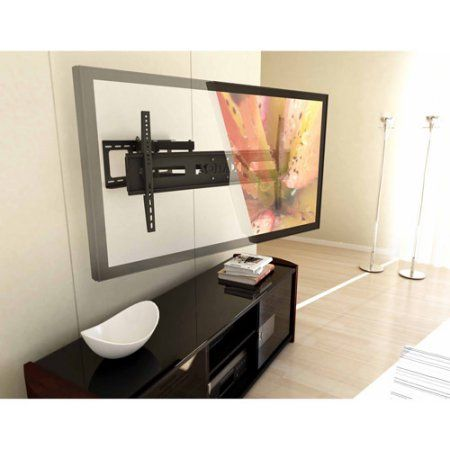 Sonax E-0312-MP Full Motion Flat Panel Wall Mount for 37 inch - 70 inch TVs, Multicolor