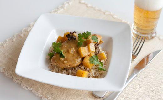 #Epicure Mango Coconut Curry