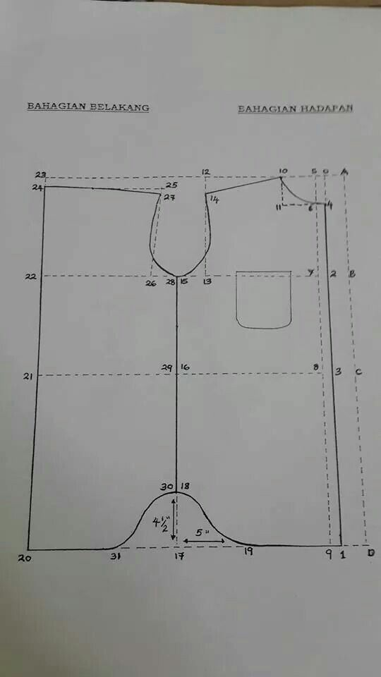 Kemeja lengan panjang
