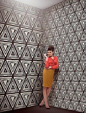ETNIK INK / Designer Gio Pagani / Carta da parati Wall&Decò #wallpaper #art