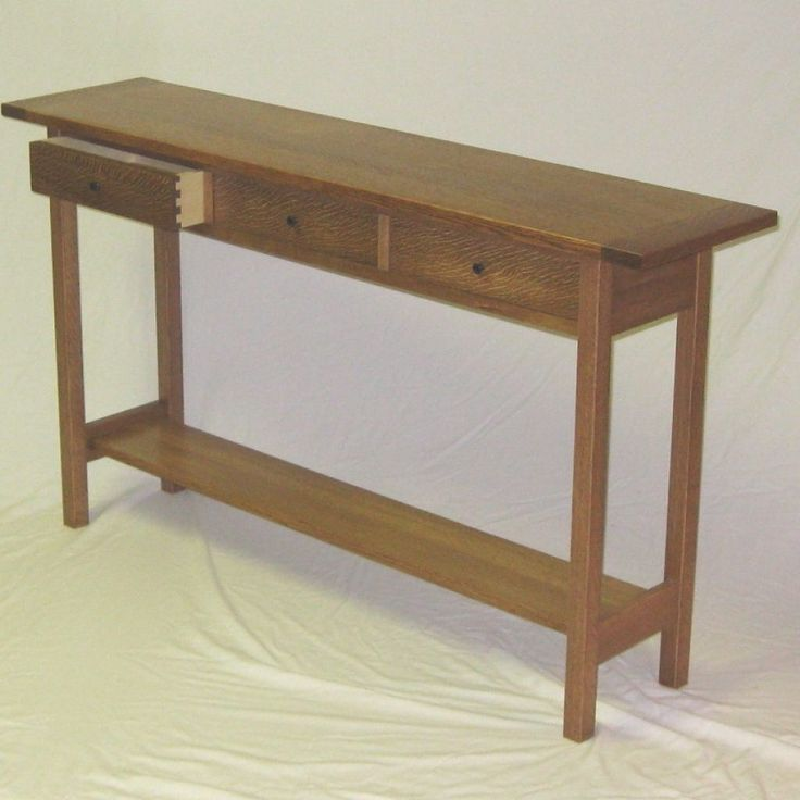 25 best ideas about narrow sofa table on pinterest for Narrow console table behind couch