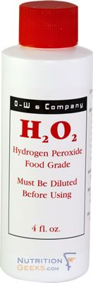 Hydrogen peroxide is generally recognized as safe (GRAS) as an antimicrobial agent, an oxidizing agent and for other purposes by the U.S. FDA. Use this with a little bak Ikk ng soda to remove the cement off your teeth from braces