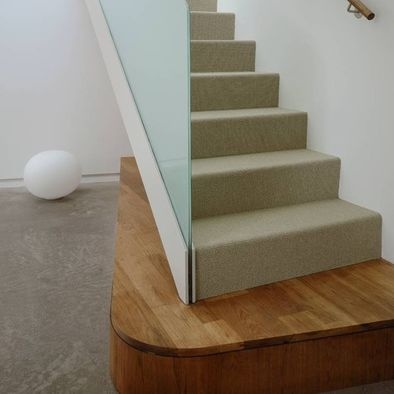 Modern Home Glass Stair Railing Design, Pictures, Remodel, Decor and Ideas