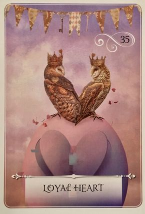 "May 19/2017 Daily Angel Oracle Card: Loyal Heart, from the Wisdom of the Oracle, by Colette Baron-Reid, artwork by Jena DellaGrottaglia Loyal Heart ~ Essential Meanings: ""Fidelity, loyalty, devotion.R…"