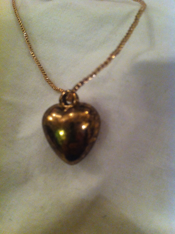 Brass Heart by LLSween on Etsy, $40.00