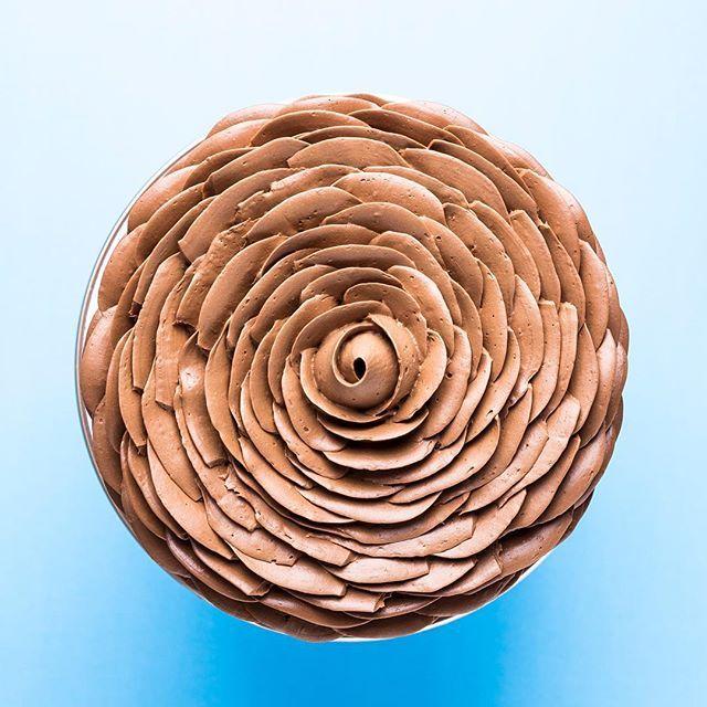 Bolo Rosa, mas desta vez todo em ganache!❤️ lindo e delicioso!!! #cursosjanainasuconic #janainasuconic #chocolatecake #ganachecake #ganache #ganachechocolate #cakedesign #cakerose #cakeroses #cakestagram #cakeideas #cakeart #chocolat #chocolatecake #chocolatelove