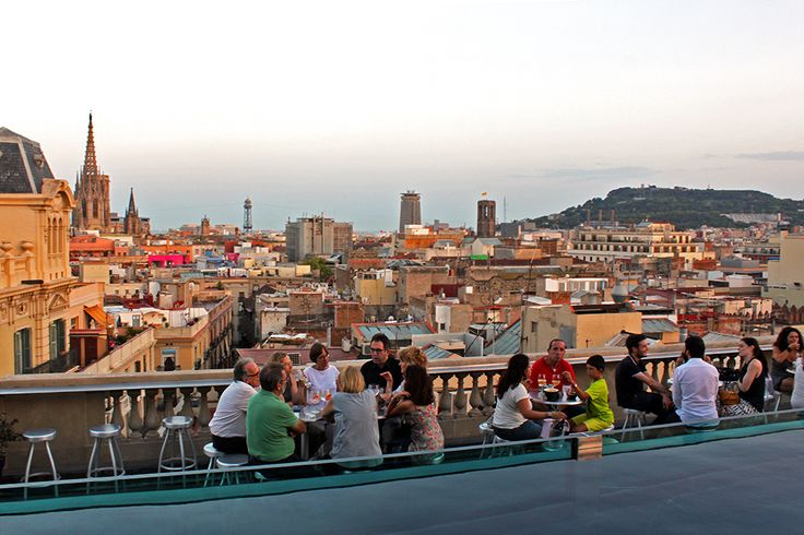 Looking for the best terraza bars in Barcelona? These rooftop bars are some of the coolest places to enjoy a drink in the hot summer months.