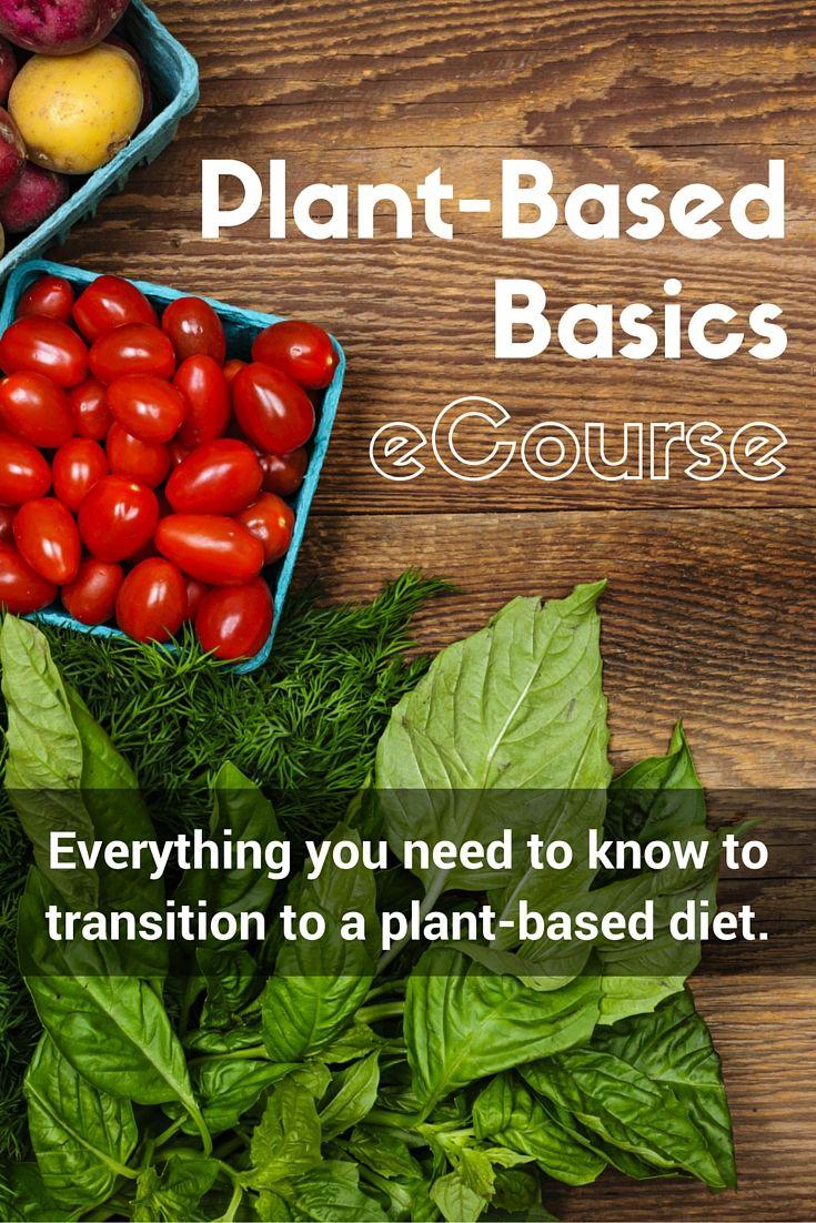 A self-paced eCourse to teach you how to transition to a plant-based diet.  If you've watched Forks Over Knives this eCourse will tell you how and what to eat for a plant-based diet.