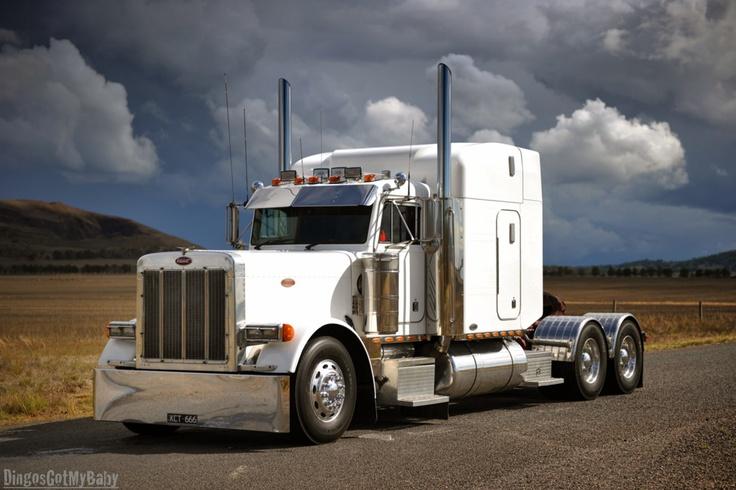 Semi Truck Hoods : Klos bros peterbilt ext hood custom trucks