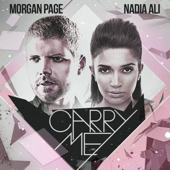 "New Music from Morgan Page feat. Nadia Ali - ""Carry Me"""