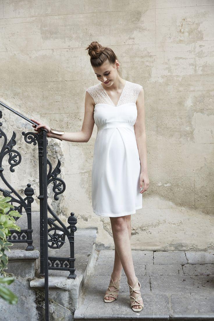 14 robes de princesse, idéales pour de futures mariées enceintes - Robes de mariée, Tendance robes de mariée - Mariage.com
