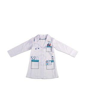 Un déguisement complet d'infirmier pour jouer à soigner ses doudous...Dès 3 ans* 100% polyester Taille unique. Hauteur totale 90 cm Pour favoriser le