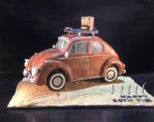 Best Vehicle Cakes Images On Pinterest Biscuits Boy Cakes - Car engine birthday cake