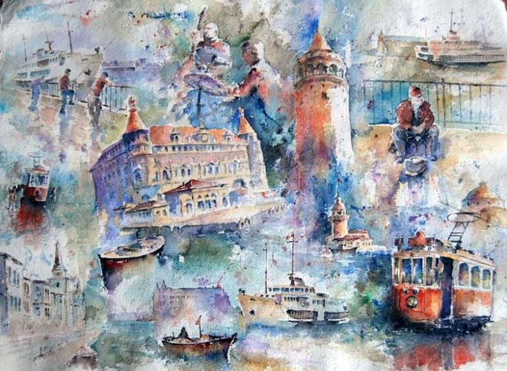 Ahmet ÖĞRETEN - Sanatçı Detayı - Turkish Paintings