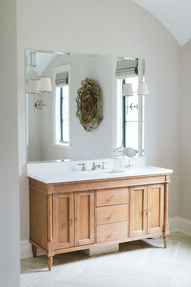 Best 25 oak bathroom ideas on pinterest annie sloan - Type of paint for bathroom cabinets ...