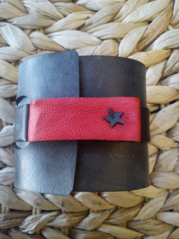 RED STAR KULT innertube / inner tube rubber by artikultcat on Etsy, €20.00