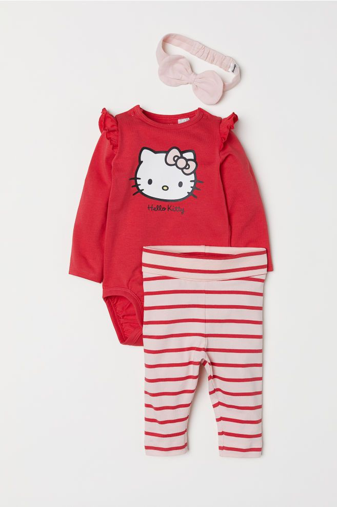 d70f3241d 3-piece Jersey Set | Emma | Baby girl fashion, Clothes, Baby planning