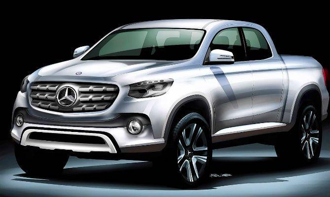 Picape da Mercedes será feita pela Nissan +http://brml.co/1Ioudgp