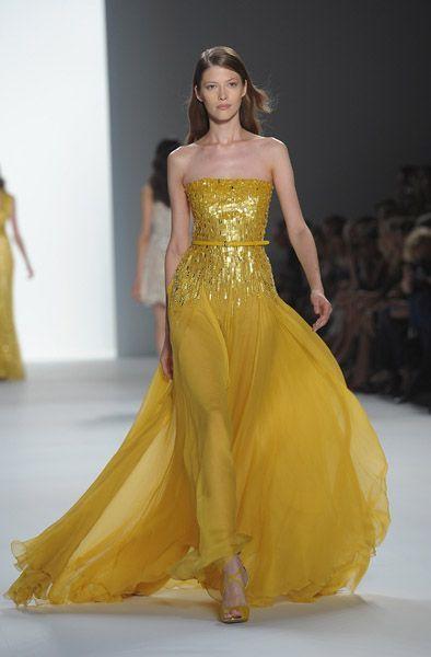 Elie Saab Primavera Verano 2012. Paris Fashion Week.