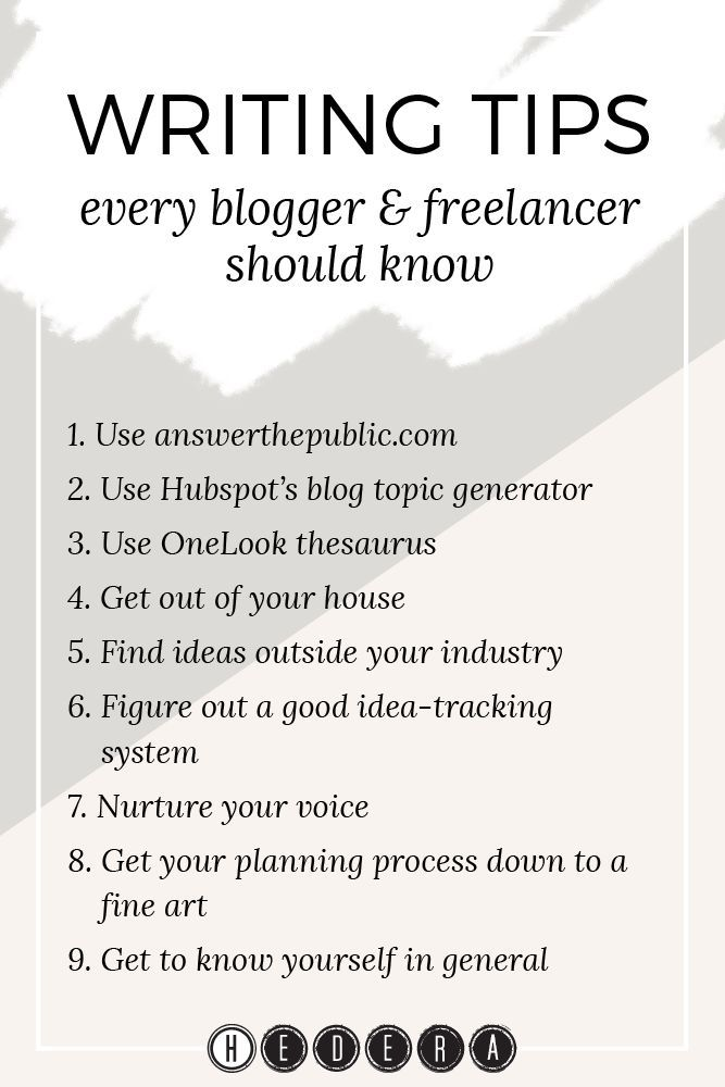 I�ve been a blogger and freelance writer for almost a year, now (gasp!). Along the way, I�ve picked up some useful tips for making the writing life a lot easier, and today I�m sharing them with you in the hope they�ll help you, too.