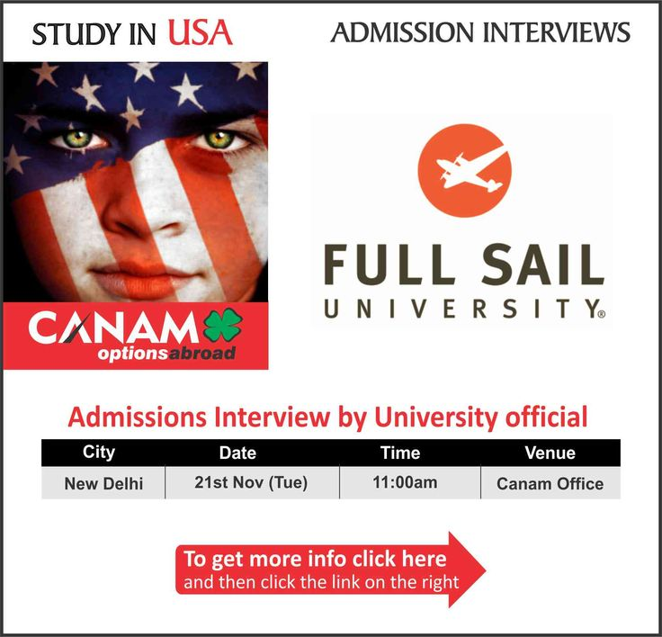 Study in #USA - Full Sail University. For complete information & enrolment, Register Today!  #StudyinUSA #USAStudyVisa #USAStudentVisa #StudentVisaExpert #HigherEducation #CanamConsultants #FullSailUniversity