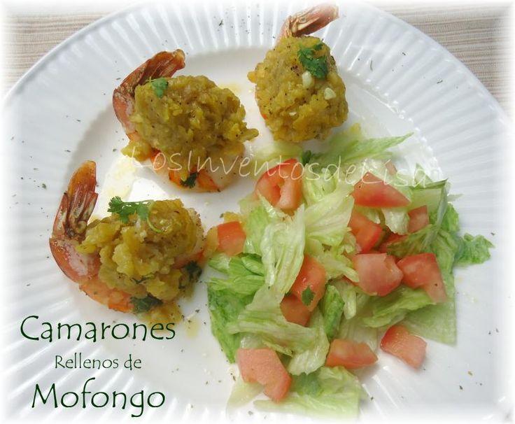Los Inventos de Lisa: Camarones rellenos de Mofongo